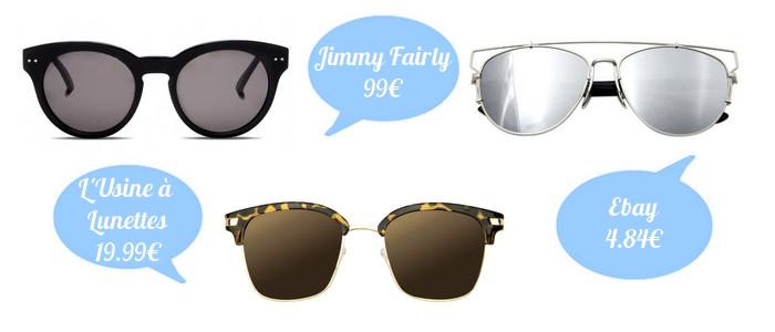 accessoires lunettes de soleil