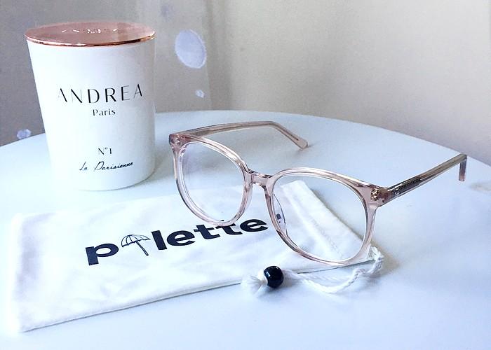 Usine à lunettes olivia pink