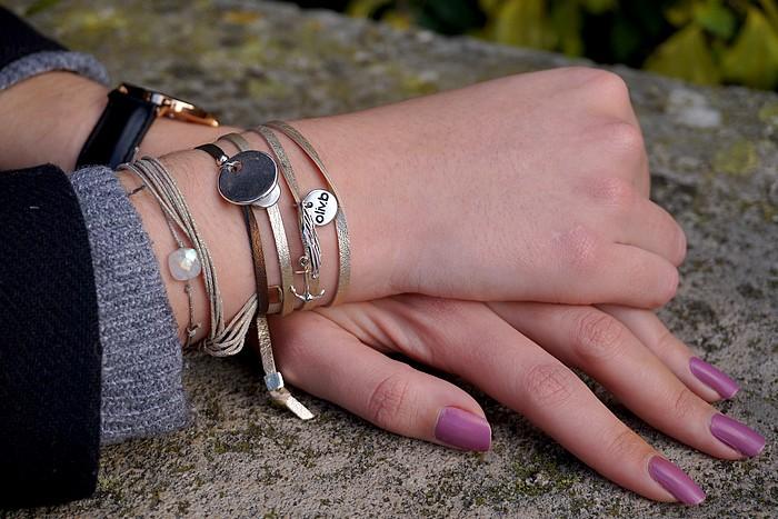 pantalon jogger -bracelets