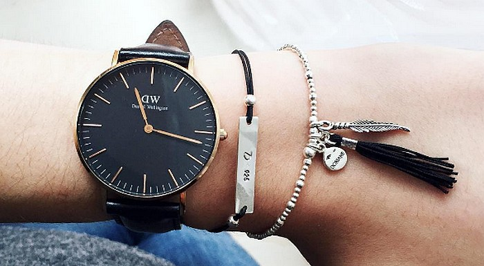 favoris daniel wellington montre