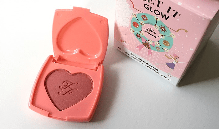 coffret let it glow too faced 4