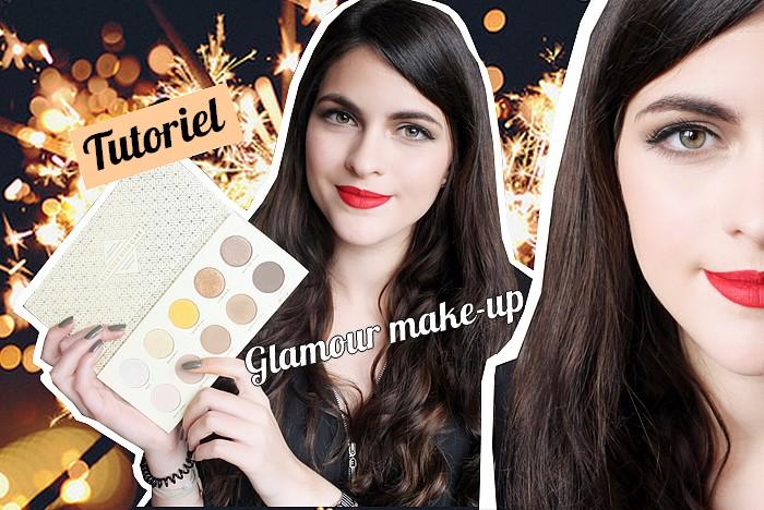 tutoriel maquillage glamour st valentin