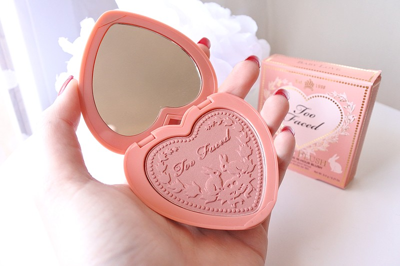 Blush Love Flush Too Faced - tendance clémence blog beauté