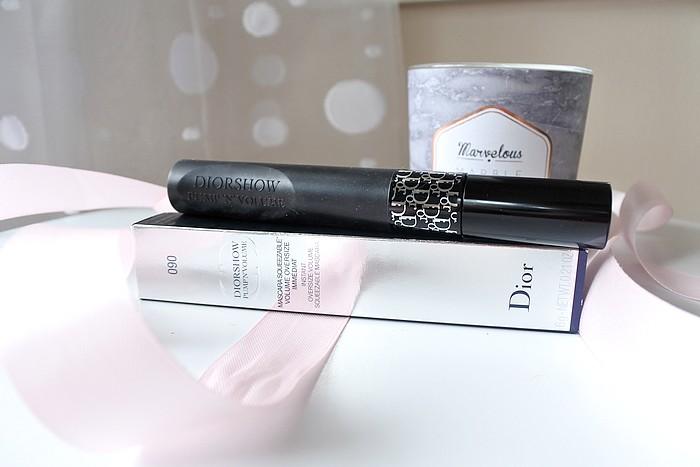 Le mascara Diorshow Pump'n Volume tendance clémence blog beauté toulouse
