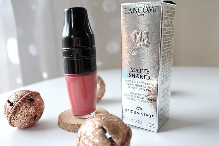 Les Matte Shaker de Lancôme tendance clémence blog beauté toulouse
