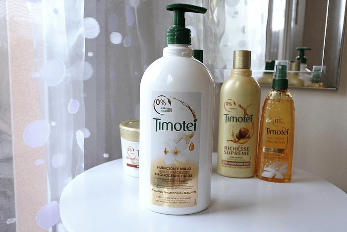 La gamme capillaire aux huiles de Timotei tendance clémence blog