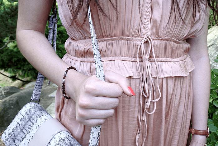 look petite robe rose tendance clémence blog