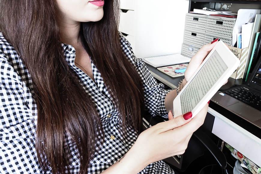 liseuse Kindle Paperwhite tendance clémence blog toulouse