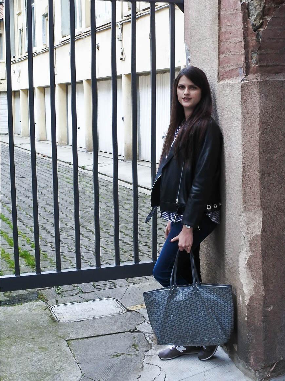 Rock en chemise vichy tendance clémence blog mode toulouse