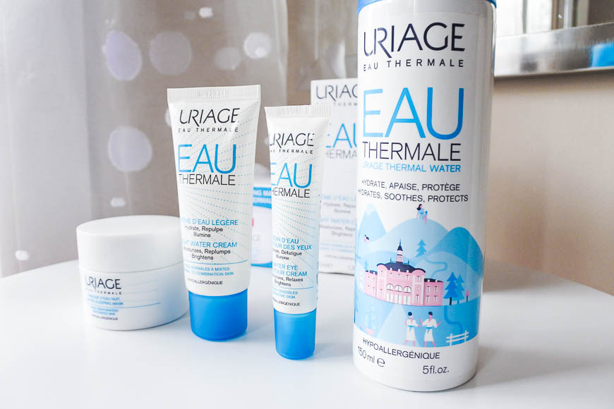 gamme eau thermale uriage tendance clémence