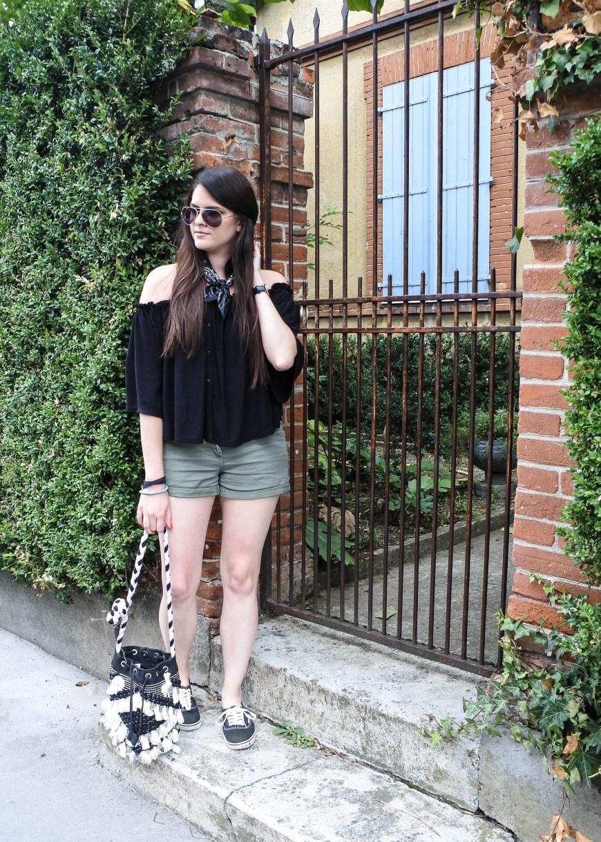look fin de l'été tendance clémence blog mode