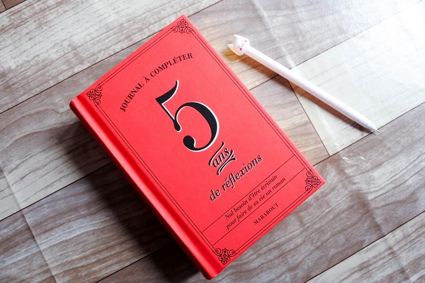Le journal 5 ans de réflexions (Editions Marabout)