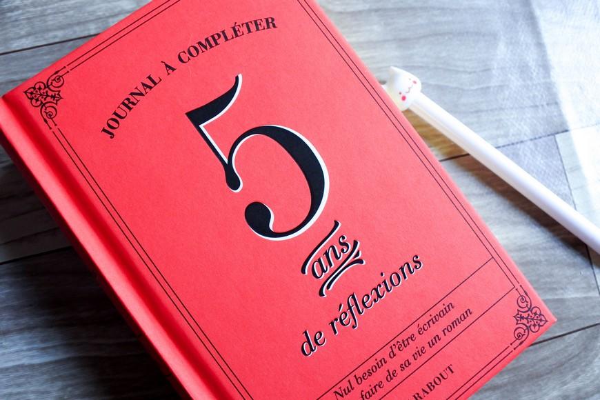 Le journal 5 ans de réflexions (Editions Marabout)c