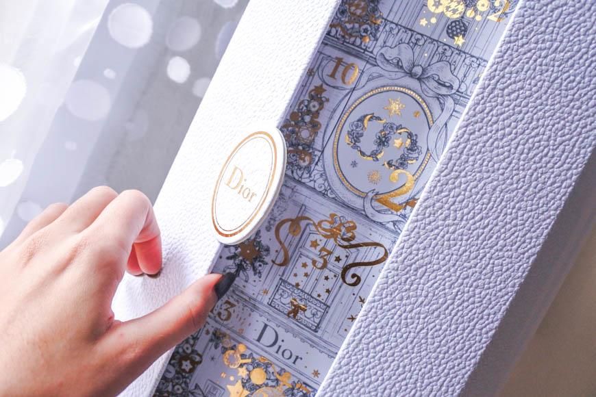 Calendrier De Lavant Dior.En Attendant Noel Avec Dior Le Calendrier De L Avent