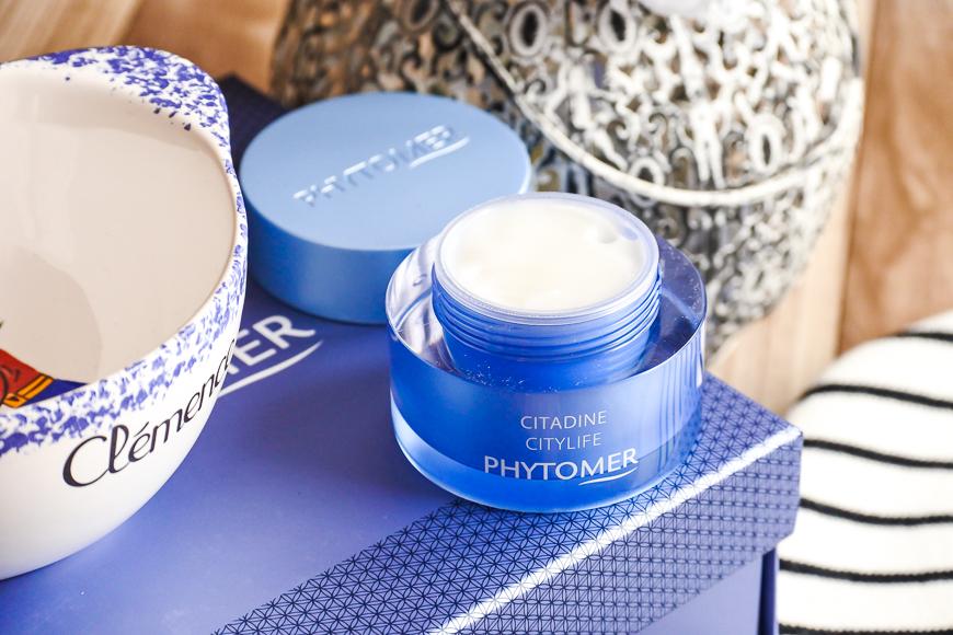 La crème sorbet Citadine visage et yeux Phytomer