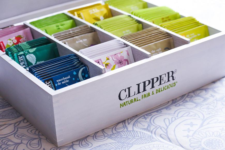 Les thés et infusions bio Clipper