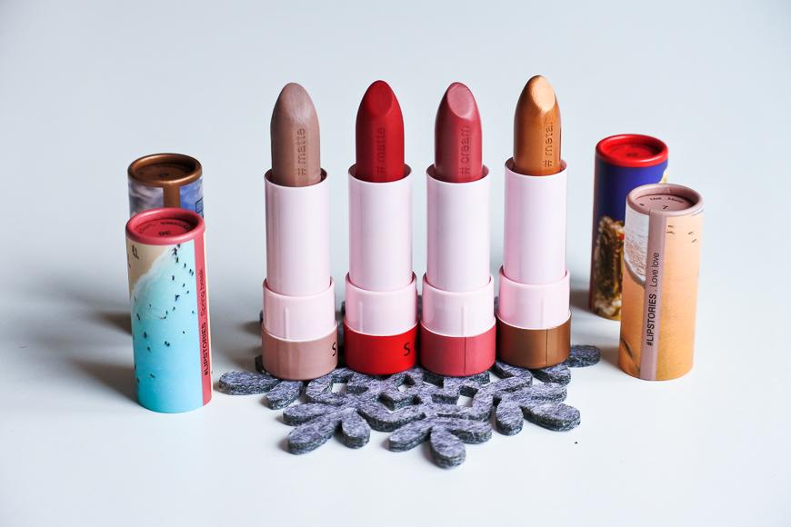 Les nouveaux rouges à lèvres Lipstories de Sephora Collection