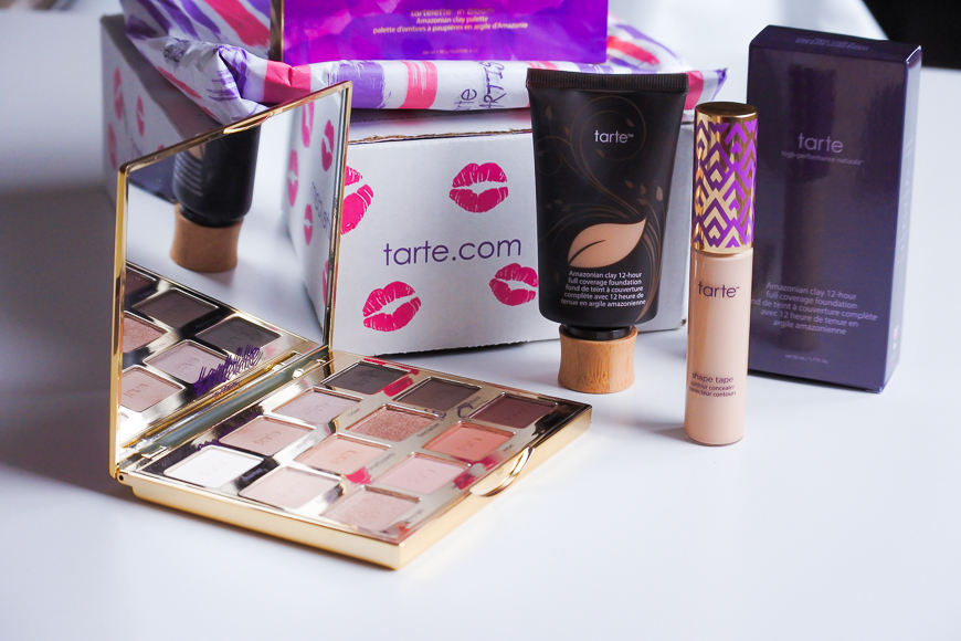 Ma première commande chez Tarte Cosmetics !