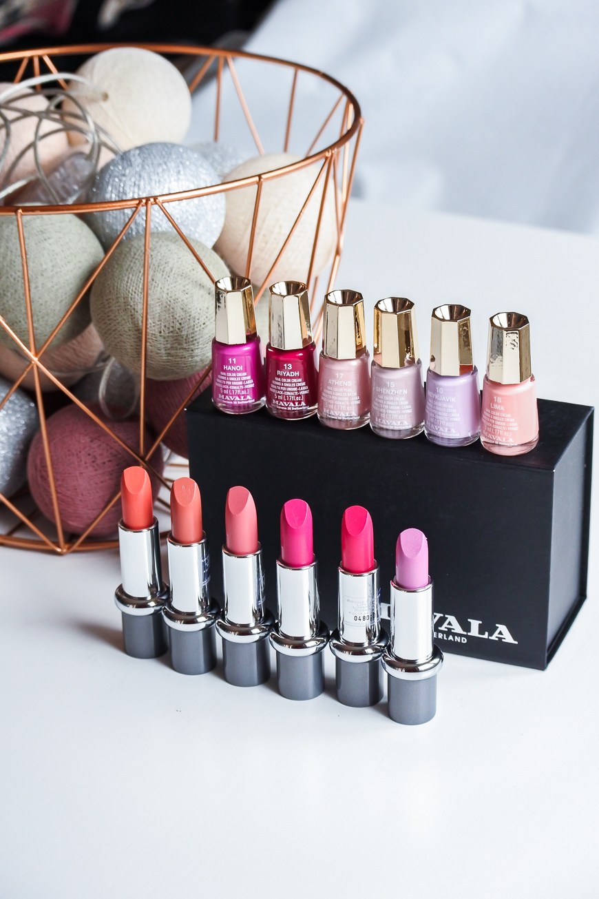 La collection de Printemps lipstick & vernis de Mavala
