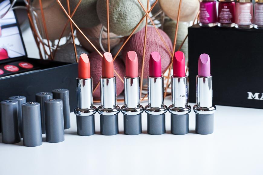 La collection de Printemps lipstick & vernis de Mavala