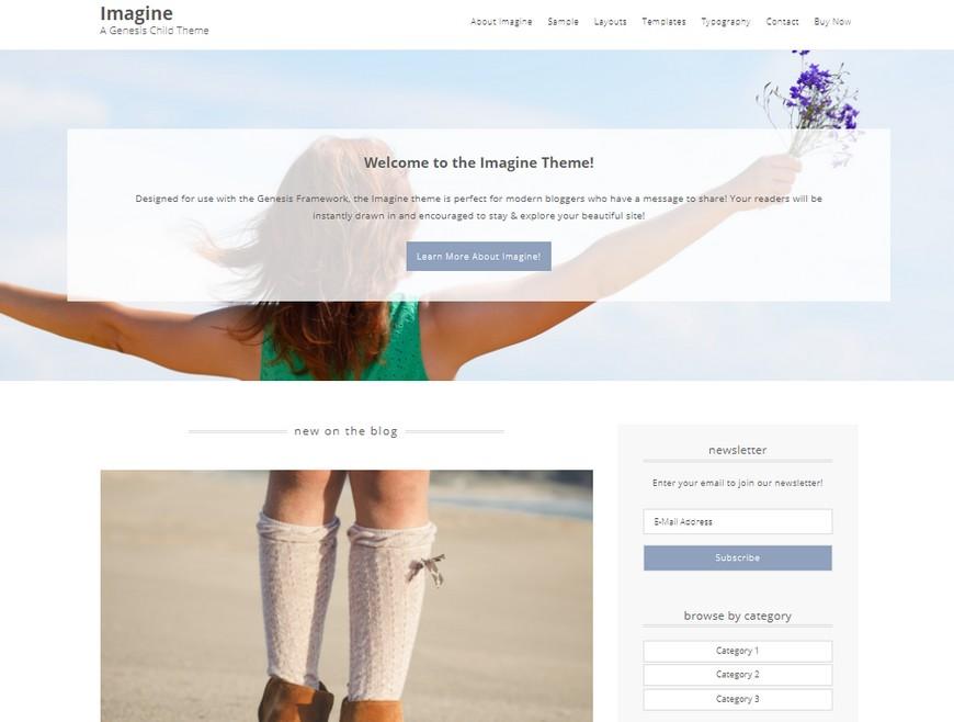 10 thèmes WordPress féminins pour blogueuses