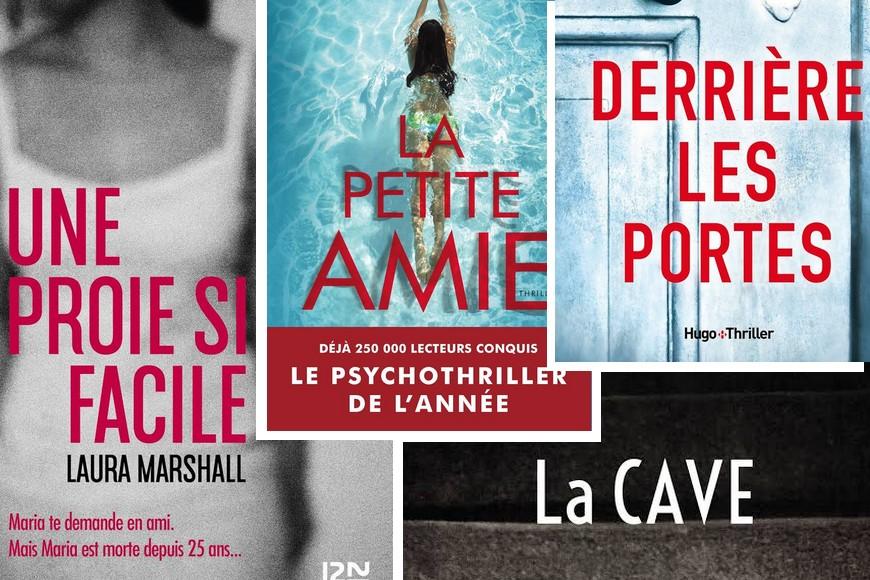 Lecture • 4 thrillers que j'ai appréciés