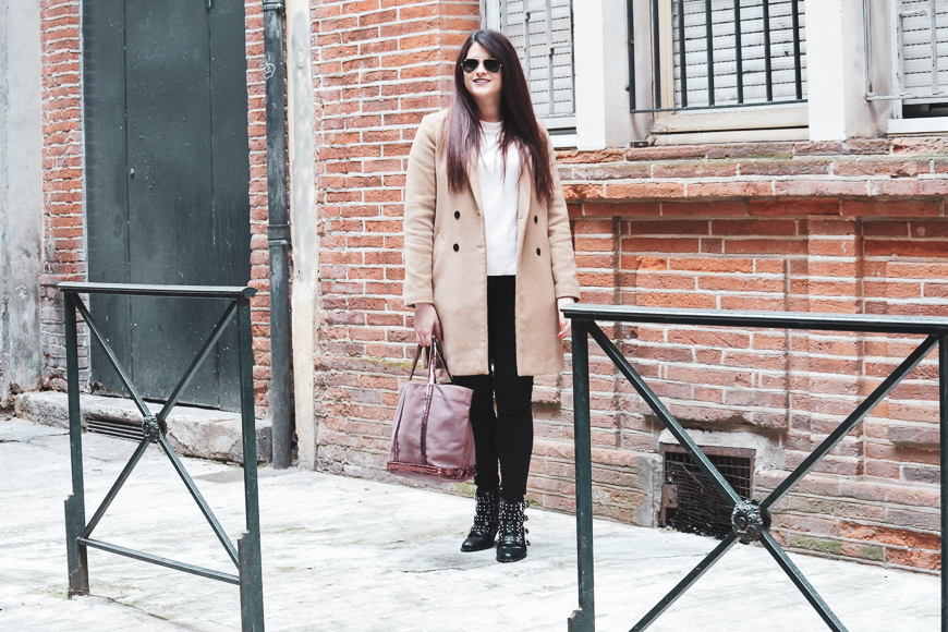 Look n°128 • Manteau camel