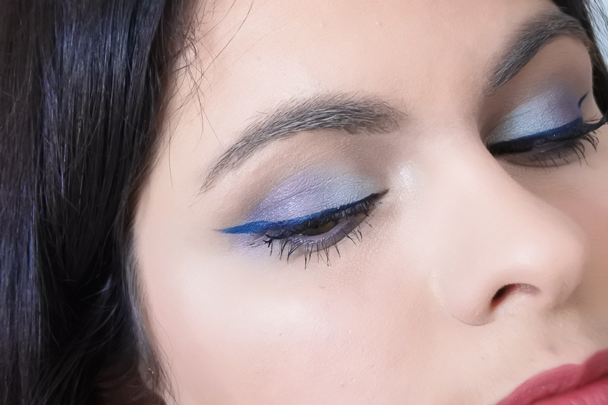 Tutoriel • 3 make-up bleus
