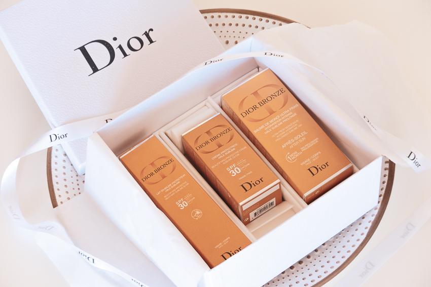 Sous le soleil avec la gamme Dior Bronze
