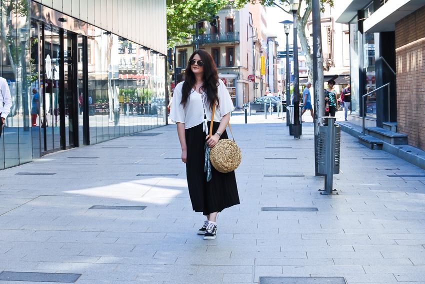 Look n°142 • J'ose la jupe-culotte