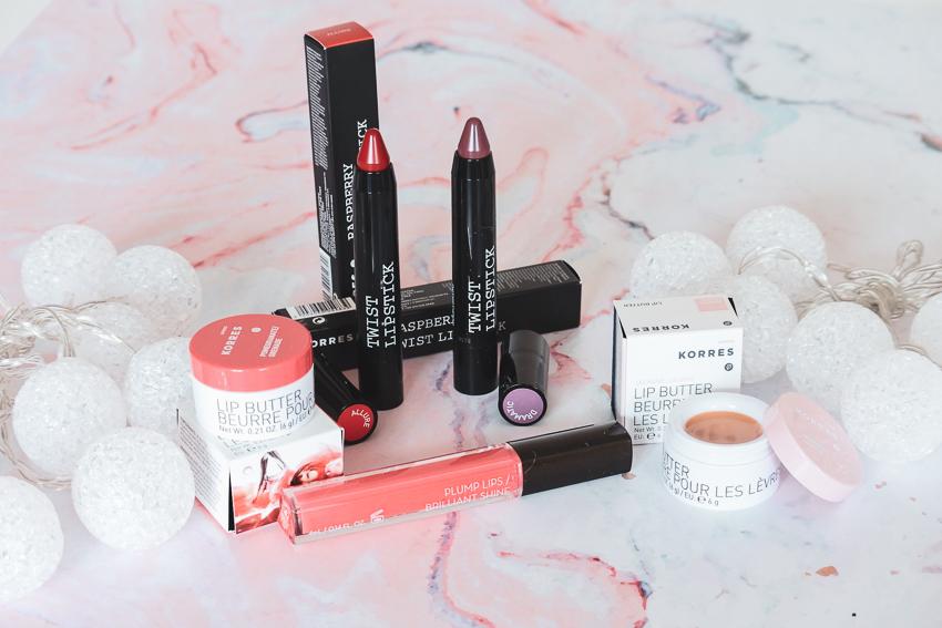 Les produits pour les lèvres de chez Korres