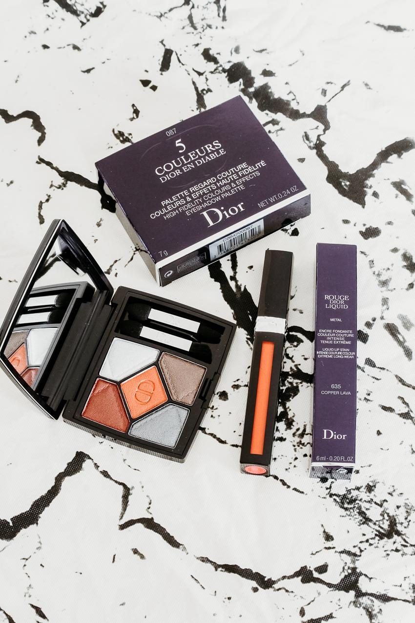 Collection make-up Dior en Diable | Fall 2018
