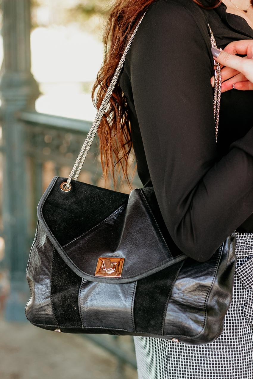 Look n°148 • La mini-jupe à carreaux
