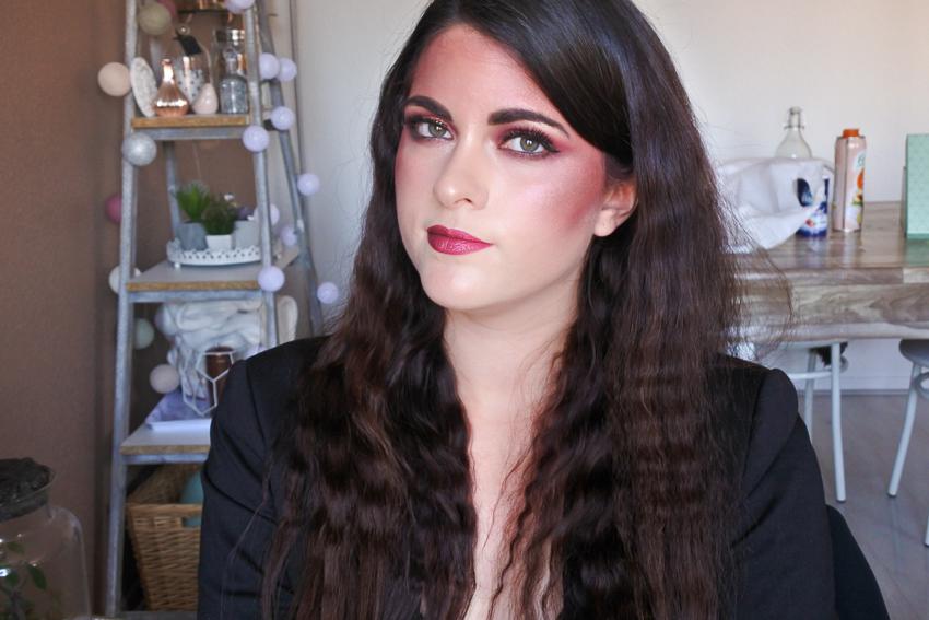 maquillage cabaret glamour