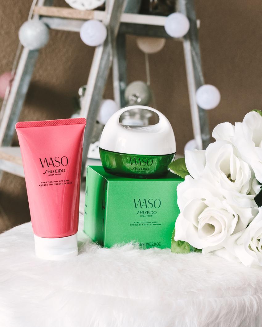 Une belle peau avec les masques WASO Shiseido