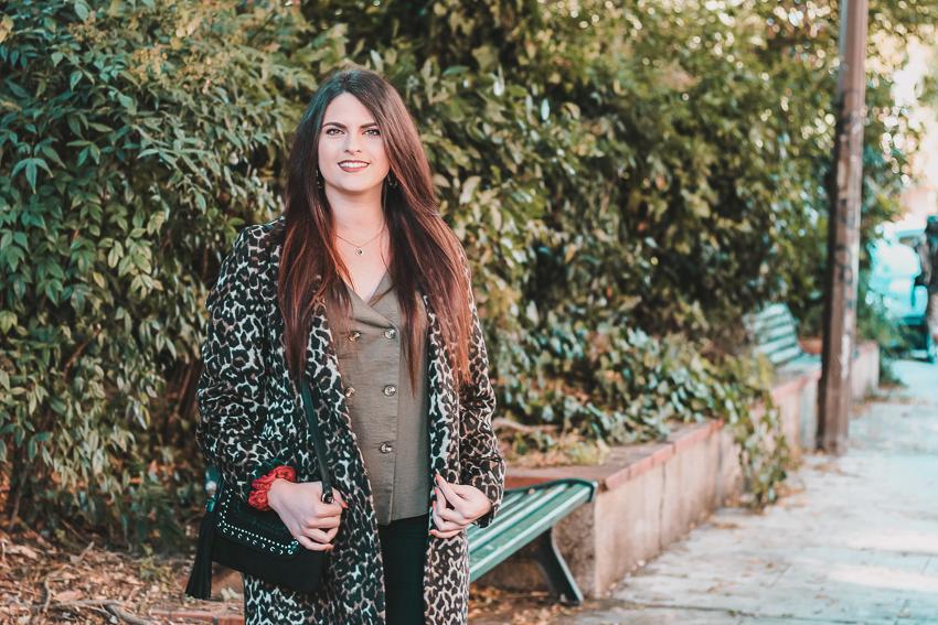 Look n°149 • On ose le manteau léopard