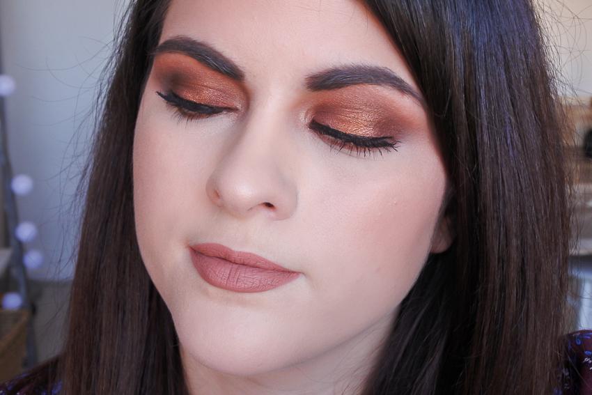 Tutoriel • Smoky eyes marron orangé