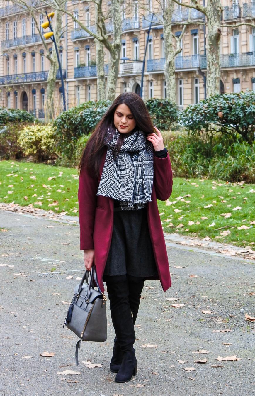 Look n°163 • Bien au chaud en robe pull