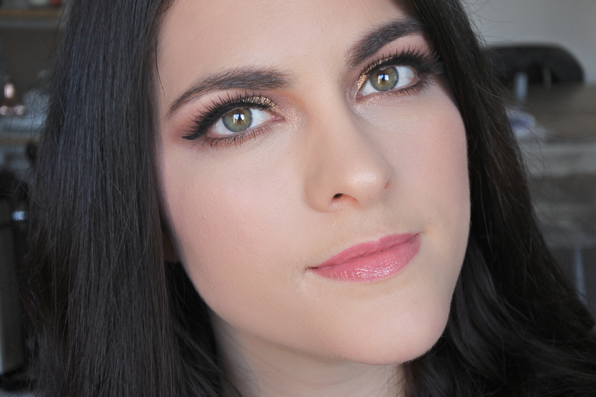 maquillage pailleté