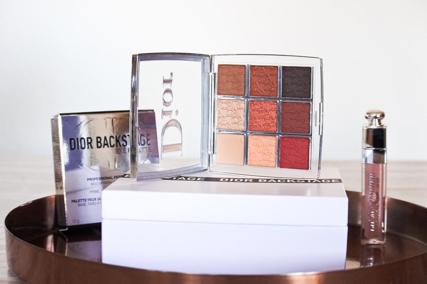 La nouvelle palette Amber Neutrals Dior Backstage