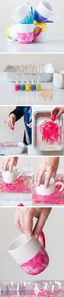 diy mug rose