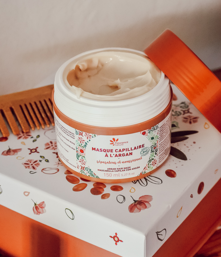 masque a l'argan fleurance nature