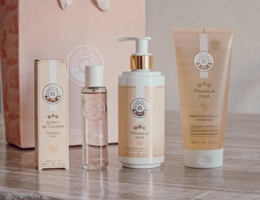 Le rituel parfumage Magnolia Folie de Roger & Gallet