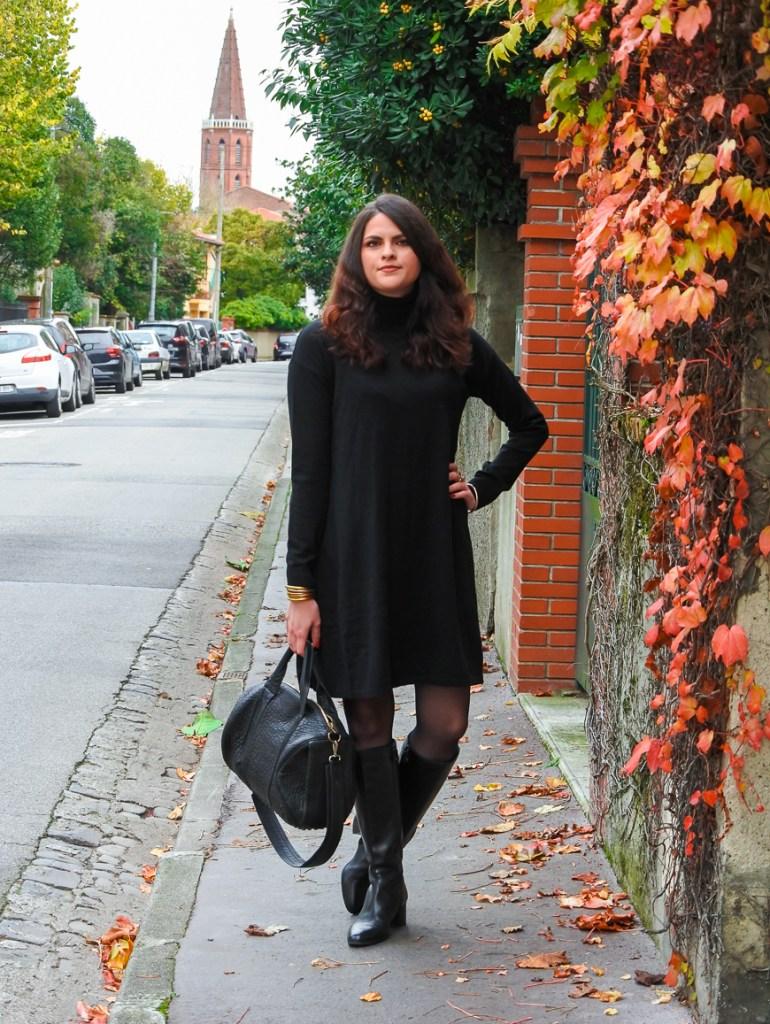 Etre élégante en hiver avec une robe pull