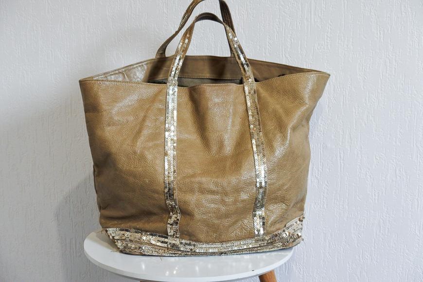 grand sac cabas en cuir