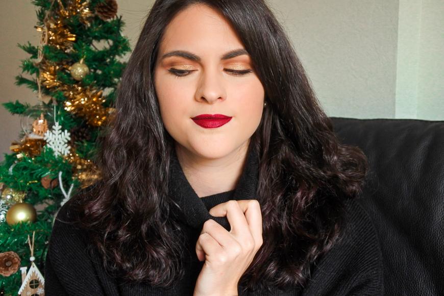 maquillage doré