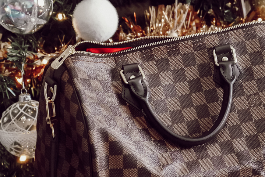 sac speedy damier