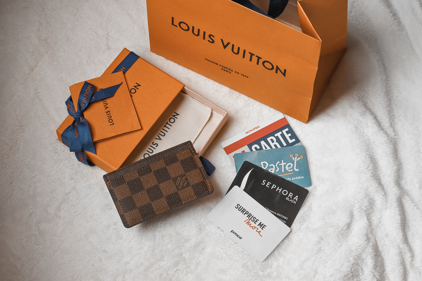 porte-cartes de Louis Vuitton