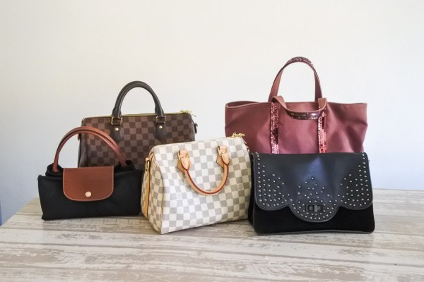 ma collection de sacs de marques