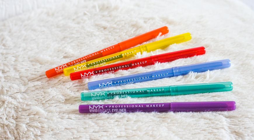 Crayons Vivid Brights Eyeliner NYX